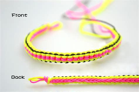 diy  string braided friendship bracelet
