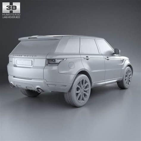 range rover sport 2013 model land rover range rover sport autobiography 2013 3d model