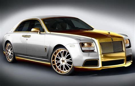 golden rolls royce golden rolls royce ghost by fenice