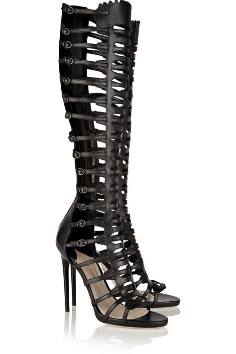 black gladiator high heels black gladiator high heels is heel