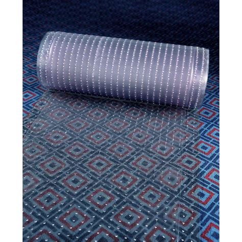 Plastic Floor Mats To Protect Carpet by Cactus Mat 3548r 4 Anchor Runner 4 Wide Clear Vinyl Heavy