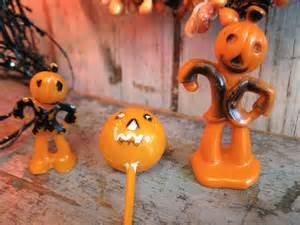 Etsy Halloween Decorations Vintage Halloween Cake Decorations Jack By Antiqueshopgirl