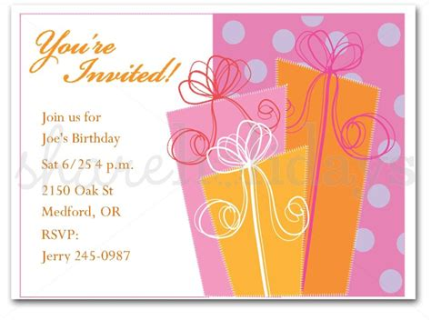 adult birthday invitations template best template collection