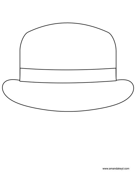 printable hat images hats free coloring pages