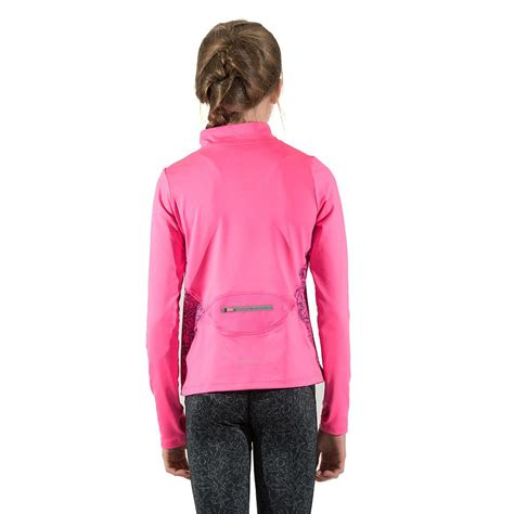 Sports Sleeve Top sleeve sports top thermal pink black everactiv