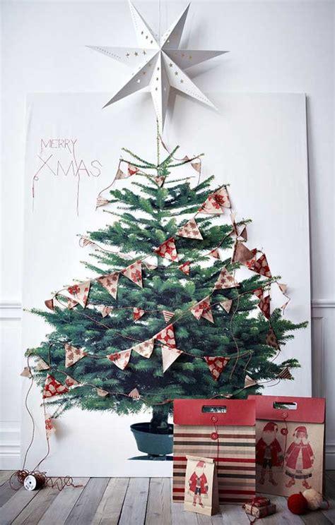 2d christmas tree christmas holiday decor ideas pinterest