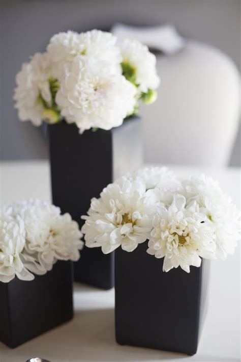 black decorations uk best 25 black centerpieces ideas on black