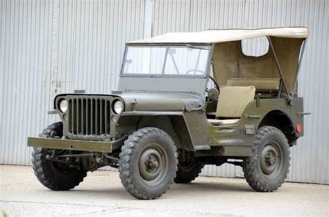 Willys Jeep Spares Uk For Sale Willys Jeep Totally Restored 1942 Classic