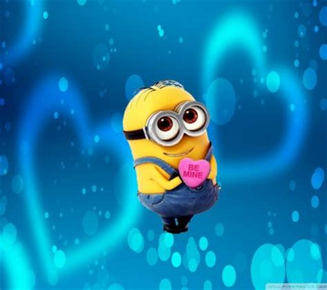 cute themes zedge download be mine minion wallpapers to your cell phone be