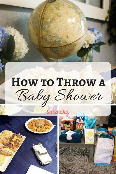 How To Throw A Baby Shower On A Budget by How To Throw A Baby Shower Splendry