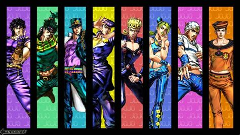 google themes jojo joestar family tree jojo s bizarre adventure chrome