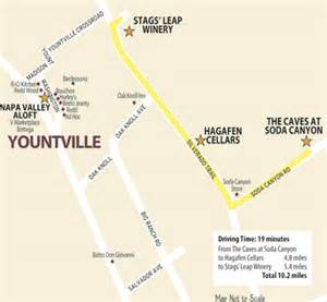 yountville california map stags leap yountville wine country this week magazine