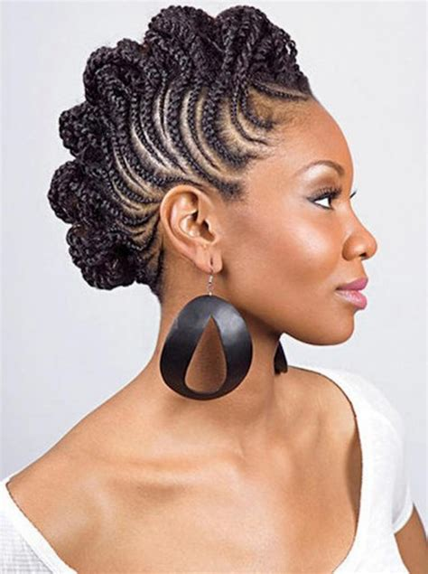 black american hairstyles braided 1950s natural hairstyles for black women braids behairstyles com