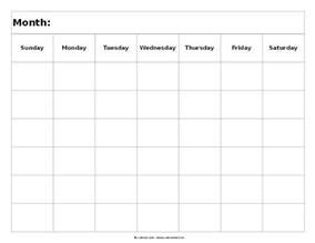 6 week calendar template blank calendar landscape 6 weeks