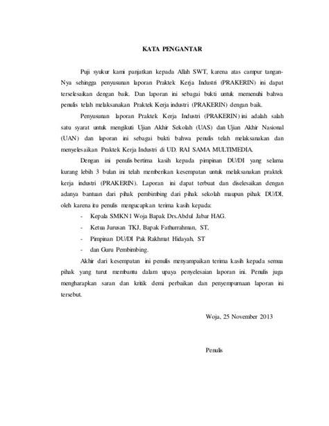 contoh judul laporan prakerin tkj laporan prakerin tkj