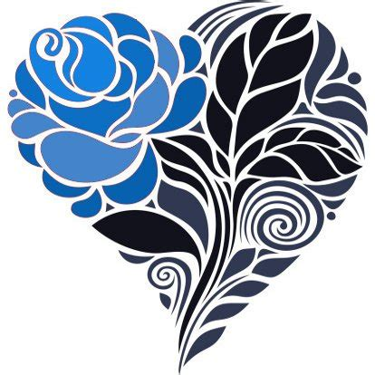 open rose tattoo check out these blue tattoos that are sure to