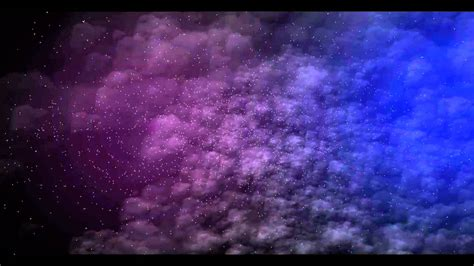 stars nebula free after effects template project animated