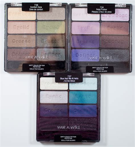 wet n wild color icon eyeshadow collection 738 comfort zone warpaint and unicorns wet n wild color icon eyeshadow