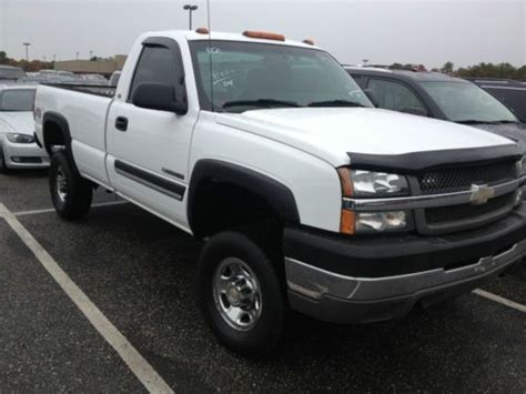 how to work on cars 2004 chevrolet silverado 1500 electronic valve timing sell used 2004 chevrolet silverado 3 4 ton 4x4 work truck low miles in darien connecticut