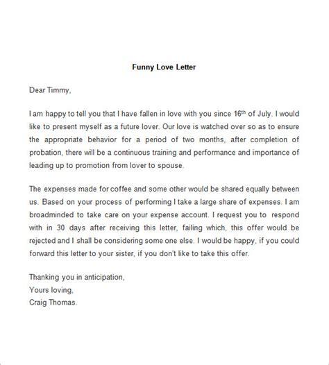 52 Love Letter Templates Doc Free Premium Templates Humorous Letter Template