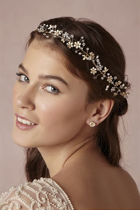 Wedding Hair Accessories The Department by Get The Bohemian Look With Bhldn Via