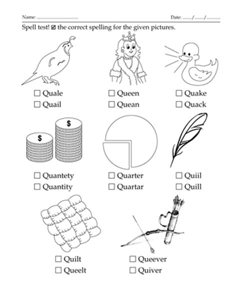 coloring pages that start with the letter q spelling test letter start with q printable coloring worksheet