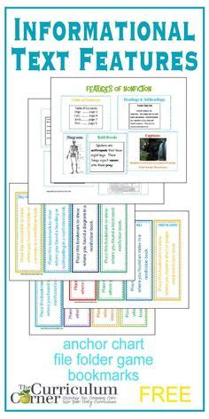 light on a hill informational text anchor charts nonfiction book template for kids to create their own