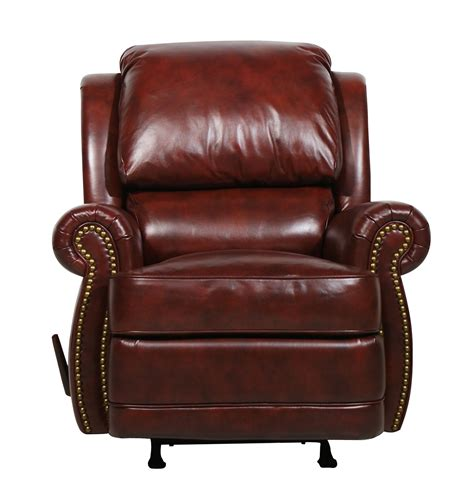 maroon leather recliner barcalounger regency ll vintage reserve leather recliner