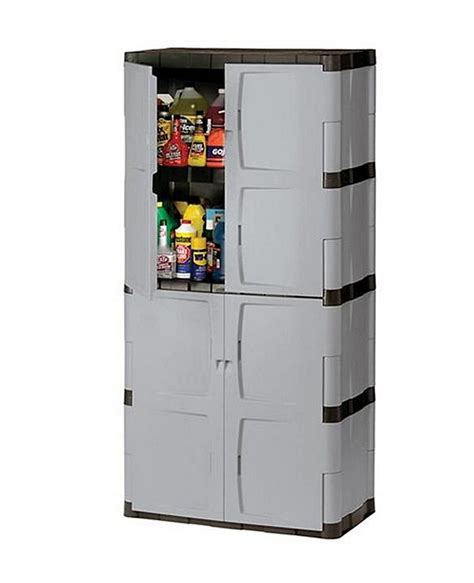 Resin Storage Cabinets by 72 Quot Resin Utility Storage Cabinet W