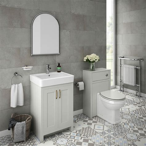 white and grey bathroom with traditional basin bathroom chatsworth traditional grey sink vanity unit toilet