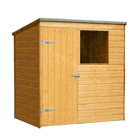 6ft X 4ft Shed by 4ft X 6ft Shiplap Pent Shed Best Price From I Like Sheds