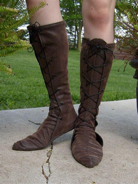 renaissance boots soft leather renaissance boots lace up w pointed