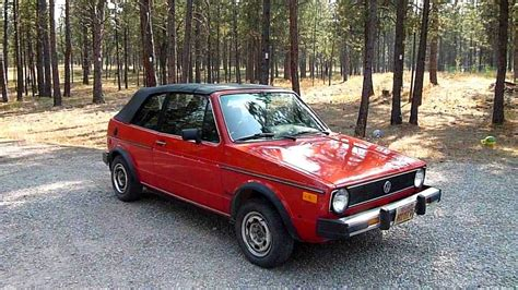 volkswagen rabbit convertible 1984 volkswagen rabbit convertible youtube