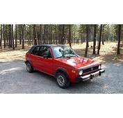 1984 Volkswagen Rabbit Convertible  YouTube