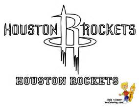 houston rockets colors basketball coloring pages
