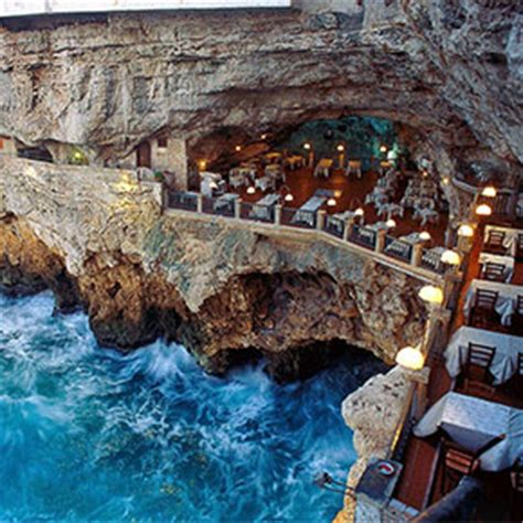 cave restaurant side of a cliff italy this house hidden in a cliff has the most awesome and