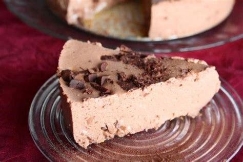 no bake chocolate cheesecake without the cream cheese