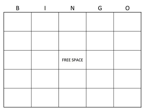 bingo board template word e3 bingo general gaming universe forums
