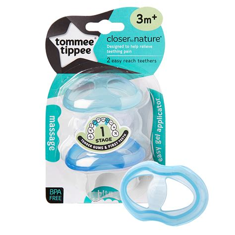 Ctn Teether Stage 3 6m alami baby soothers teethers tommee tippee closer to