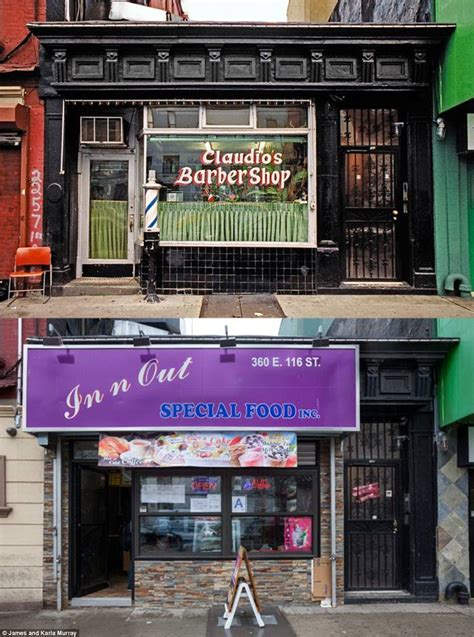 barber shop hell s kitchen attack of the chain stores photographs capture the changing of new york as