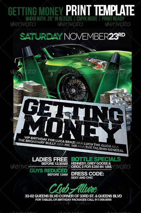 Getting Money Flyer Graphicriver Money Flyer Template