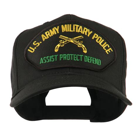 Army Police US Army Military Police Large Patch Cap: Army Cap