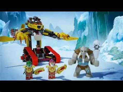 How To Use A Lava L by Lego Chima 70144 Lavals Lego 3d Review