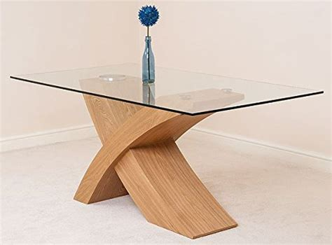 modern furniture direct valencia glass and wood dining
