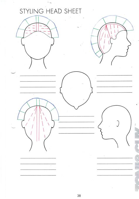 hair cutting angles head sheets hair cutting diagrams head get free image