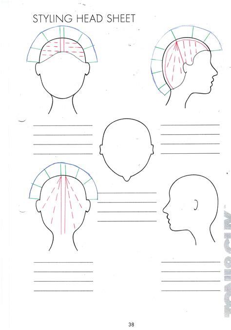 diagram on cutting hair head sheets hair cutting diagrams head get free image