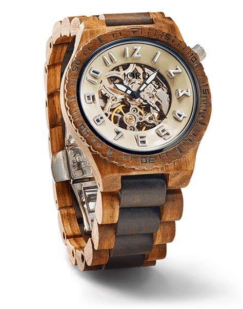 mens wooden watches by jord