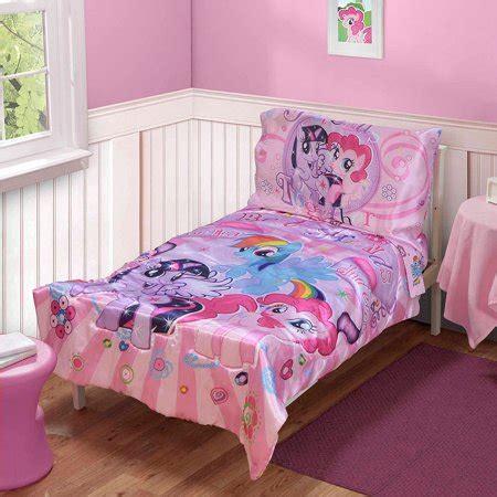 Set Disney Pony my pony 4 pc toddler bedding set walmart