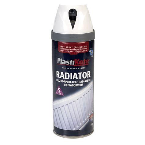 spray paint radiator plastikote 26100 twist spray radiator gloss white 400ml