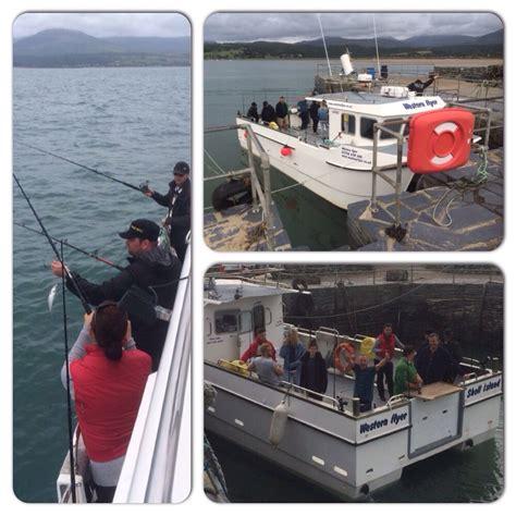 fishing boat hire north wales western flyer shell island sea fishing north wales